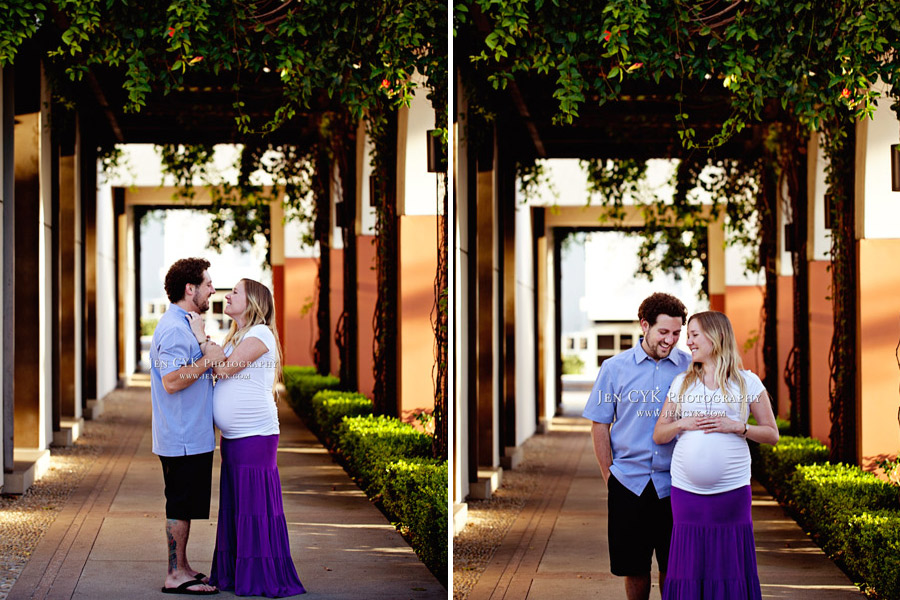 Orange Circle Maternity Photos (14)