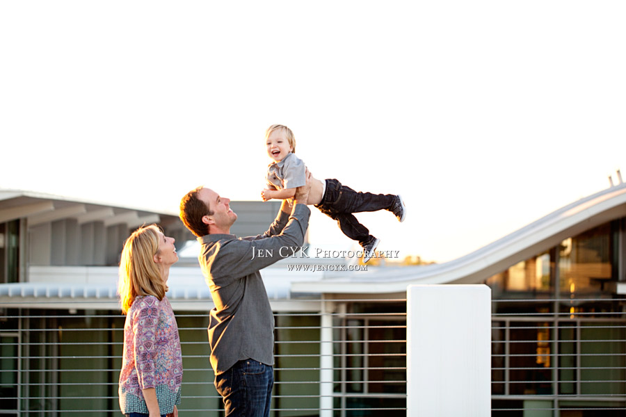 Rooftop Newport Beach Family Photos (8)