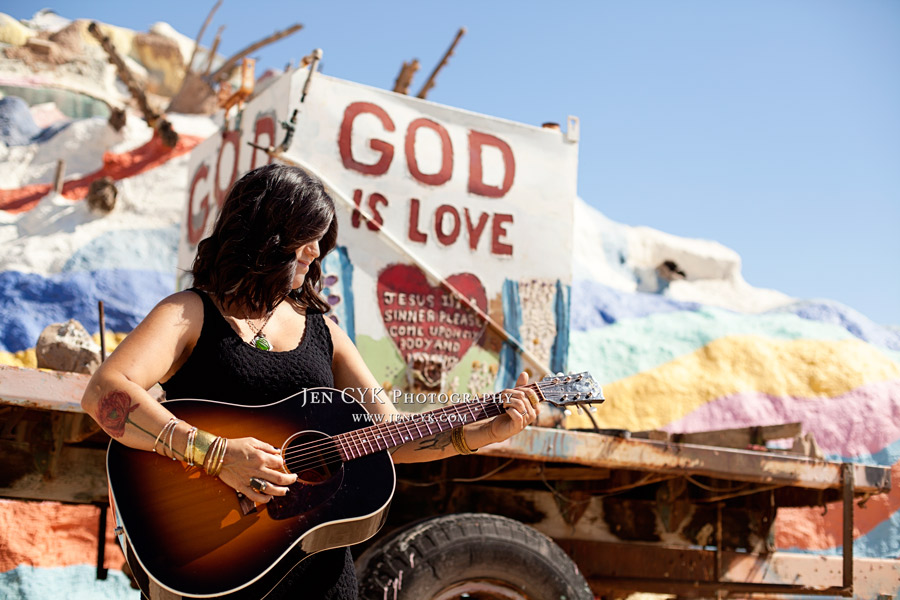 Salvation Mountain Girl Guitar (2)