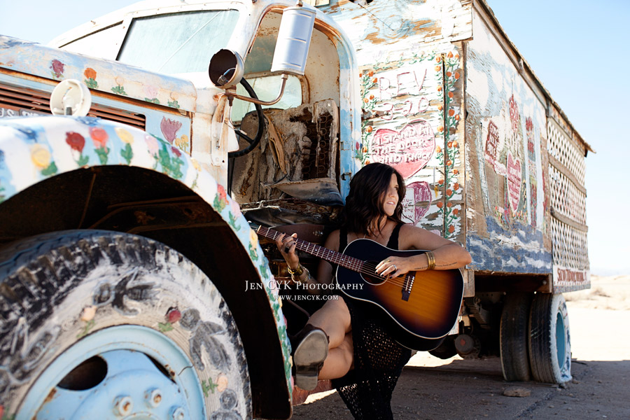 Salvation Mountain Girls Guitars