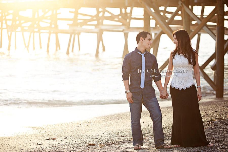 San Clemente Pier Engagement (10)