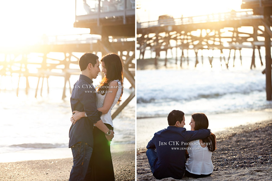 San Clemente Pier Engagement (15)