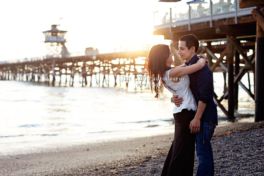 San Clemente Pier Engagement