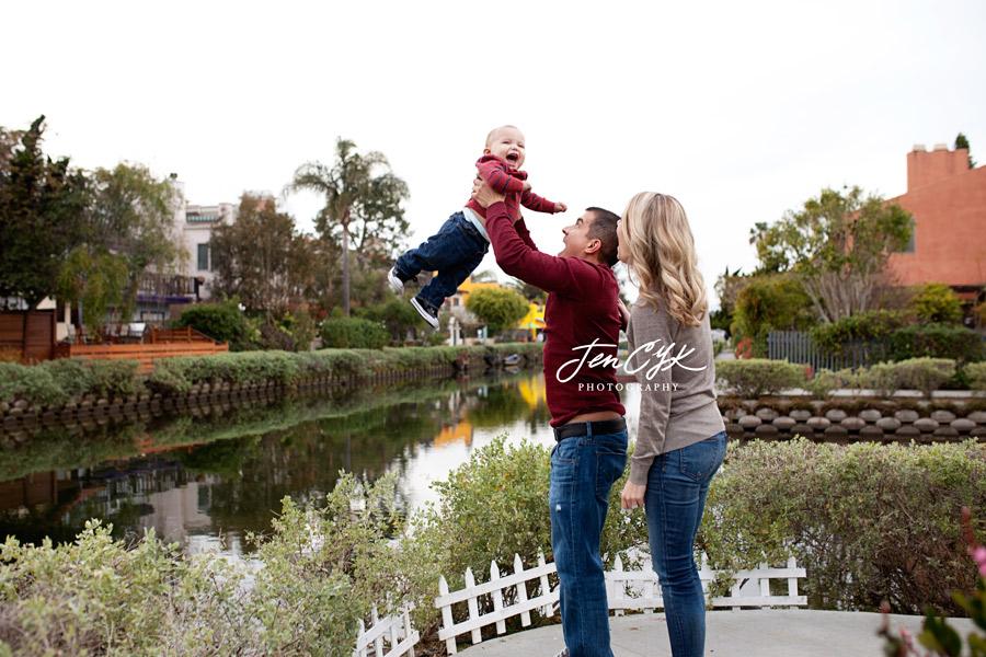 Venice Canal Family Pics (7)