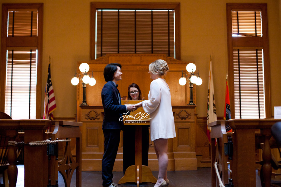 Courthouse Wedding (1)